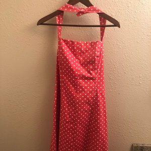 Positive Attitude - Pink Polka Dot Dress